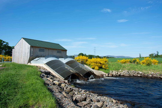 The small scale hydro electric generation scheme