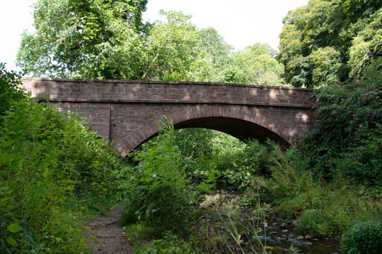 Bridge at the start of the Fairy Glen