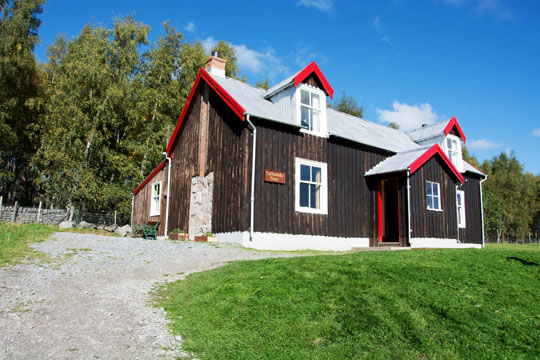 One and a half storey wooden house, called Lochanhully House