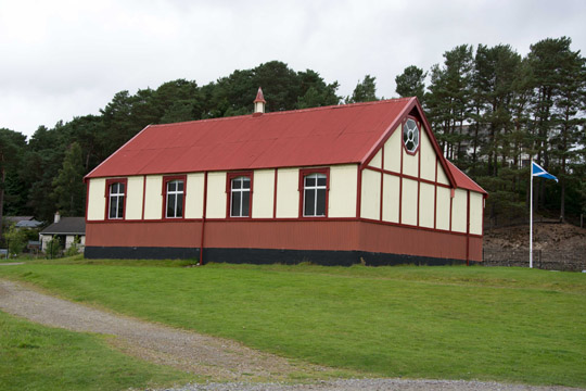 The old wooden kirk