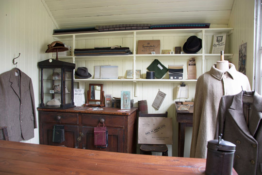 The front of the Tailors shop