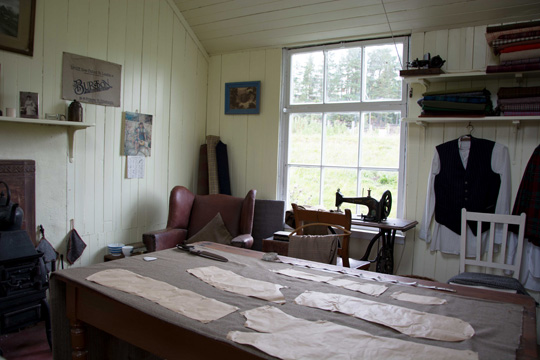The Tailors workshop