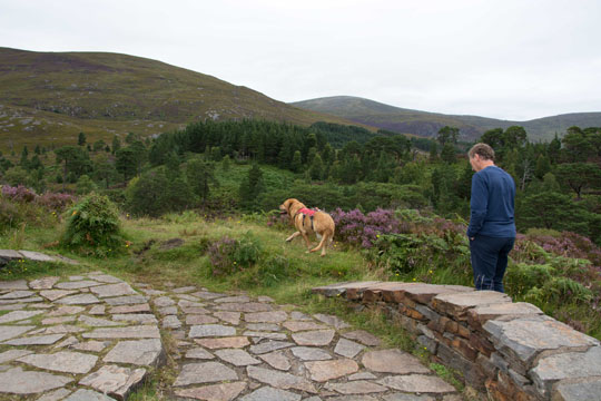 Willow and Ian at Affric