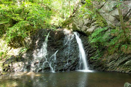 Waterfall at the head of the Fairy Glen